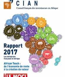 Rapport CIAN 2017 - Les entreprises françaises & l'Afrique