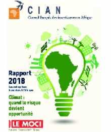 Rapport CIAN 2018 - Les entreprises internationales en Afrique