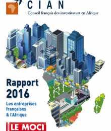 Rapport CIAN 2016 - Les entreprises françaises & l'Afrique